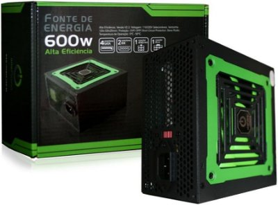 FONTE ONE POWER 600W MP600W3-I