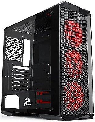 GABINETE REDRAGON GRIMLOCK RGB GC-602