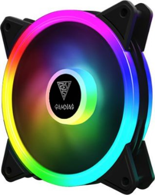 COOLER FAN GAMDIAS AEOLUS 120MM RGB M2-1201