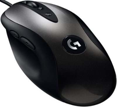 MOUSE GAMER LOGITECH MX518 LEGENDARY HERO 16000DPI