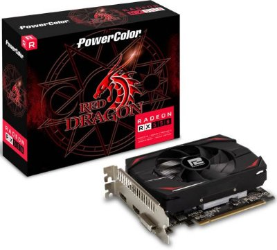 PLACA DE VÍDEO POWERCOLOR AMD RADEON RX 550 4GB GDDR5 128BITS 4GBD5-DH
