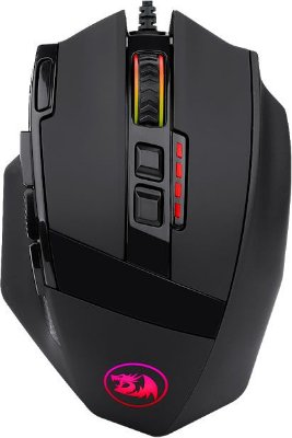 MOUSE GAMER REDRAGON SNIPER M801-RGB 12400DPI