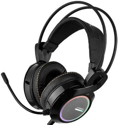 HEADSET MULTILASER WARRIOR THYRA 7.1 RGB GAMER PH290