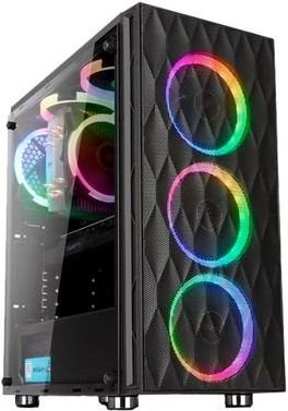 GABINETE LIKETEC HORUS RGB GAMER - 06 COOLER INCLUSO + SUPORTE VGA