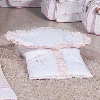 Saco de Bebe Baby Leticia Rosa ( Porta Bebe )