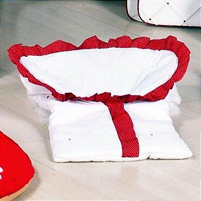 Saco de Bebe Baby Retrô Vermelho ( Porta Bebe )
