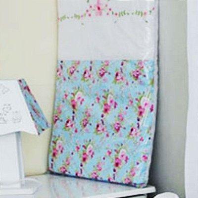 Trocador de Bebê com Espuma BETTINA 100% Algodão - Plastificado