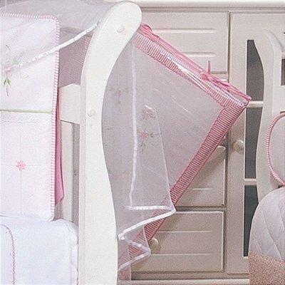 Trocador de Bebê com Espuma Leticia Rosa - Plastificado