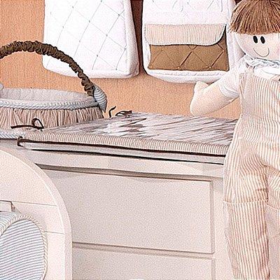 Trocador de Bebê com Espuma Mateus - Plastificado