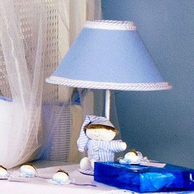 Abajur Bebe Sleep Azul