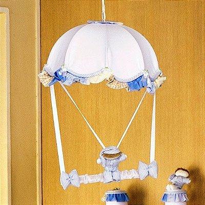 Lustre (Luminária) Quarto Bebê Sleep Azul