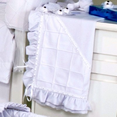 Manta de Bebe Verão Baby Bear Branca