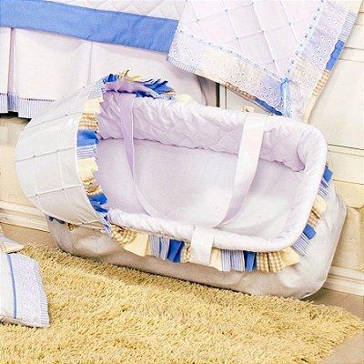 Moisés de Bebe Sleep Azul ( Transbaby )