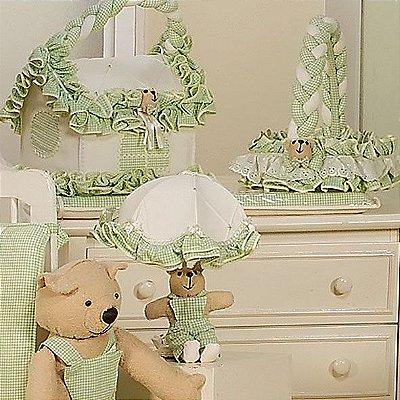 Trocador de Bebê Luxo com Espuma Baby Dream Piquezinho 100% Algodão Plastificado