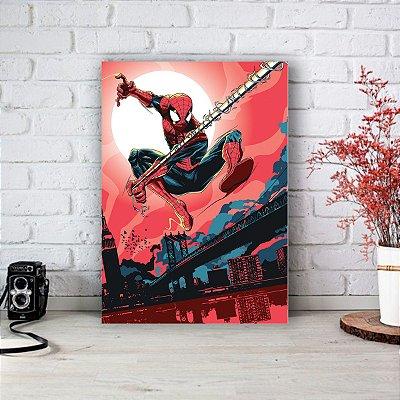 Placa Decorativa Homem Aranha