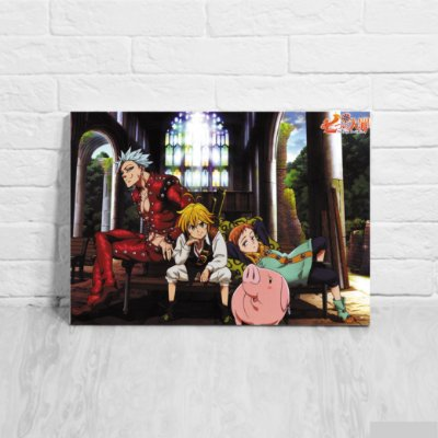Placa Decorativa Nanatsu no Taizai - The Seven Deadly Sins