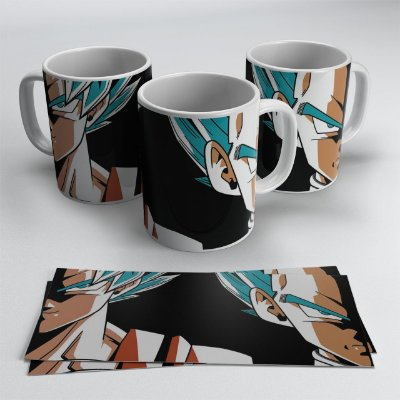 Caneca Goku e Vegeta - Dragon Ball