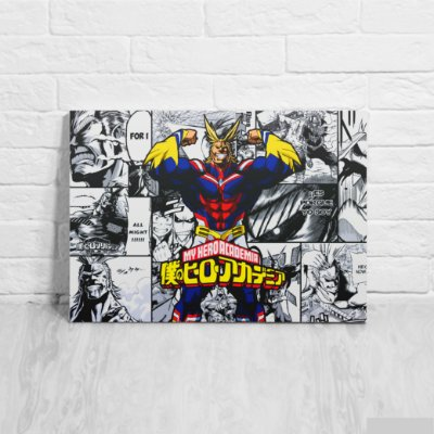 Placa Decorativa All Might- Boku no Hero Academia