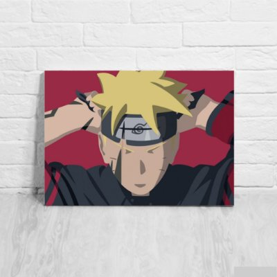 Placa Decorativa Boruto
