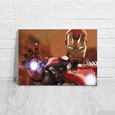 Placa Decorativa Homem de Ferro