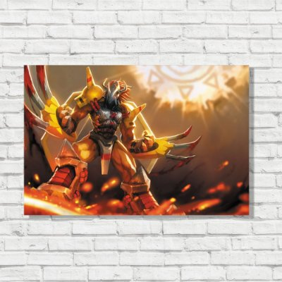 Placa Decorativa Wargreymon