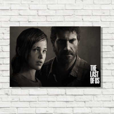 Placa Decorativa The Last of Us