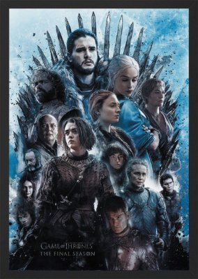 Quadro Game of Thrones - Personagens