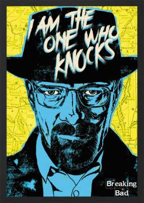 Quadro Walter White - Breaking Bad
