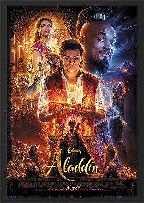 Quadro Poster Aladdin - Filme