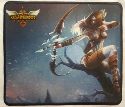 Mousepad Gamer Ashe (30x25cm) - League of Legends
