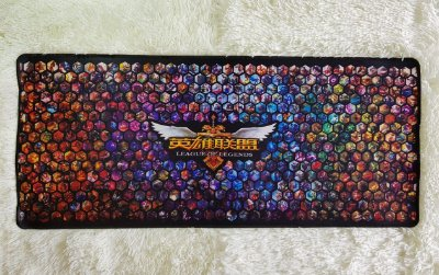 Mousepad Gamer Campeões e Skins (70x30cm) - League of Legends