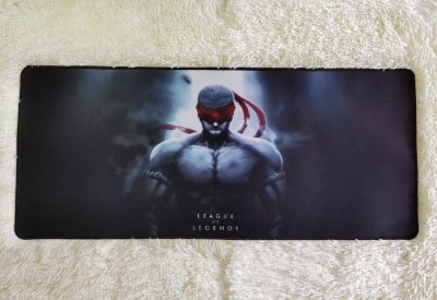 Mousepad Gamer Lee Sin Muay Thai (70x30cm) - League of Legends