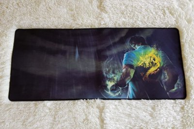 Mousepad Gamer Lee Sin Dragon Fist (70x30cm) - League of Legends