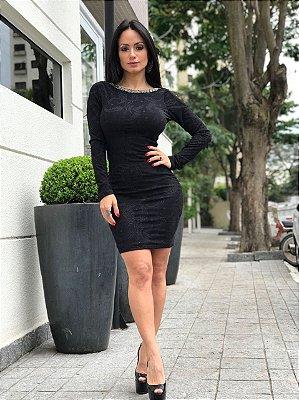Vestido Jacquar