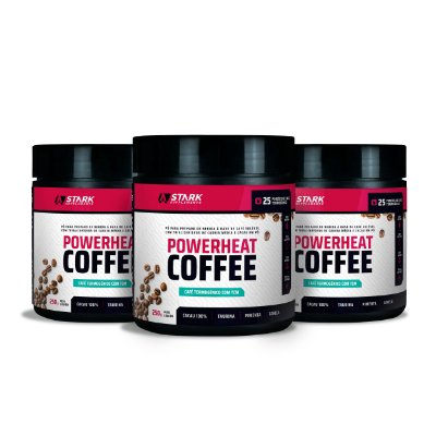 Kit 3x Powerheat Coffee (250 g)