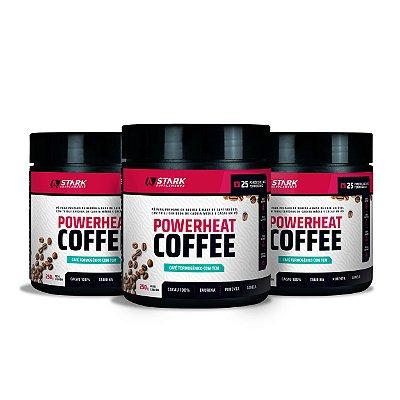Kit 3x Powerheat Coffee (250 g)