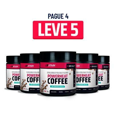 Kit 5x Powerheat Coffee (250 g)