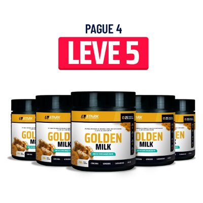 Kit 5x Golden Milk (250 g)