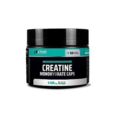 Creatine Monohydrate Caps - 120 Cápsulas