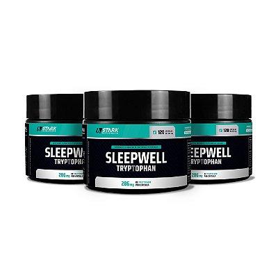 Kit 3x SleepWell Tryptophan - Triptofano - 120 Cápsulas