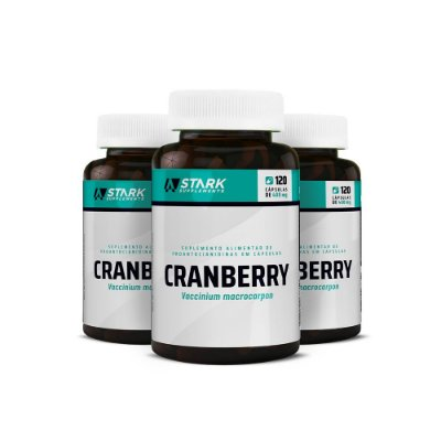 Kit 3x Cranberry - 120 Cápsulas