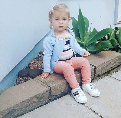 Blazer Azul Bebê