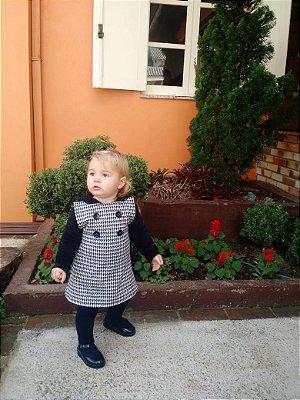Vestido Bethina Pied Poule