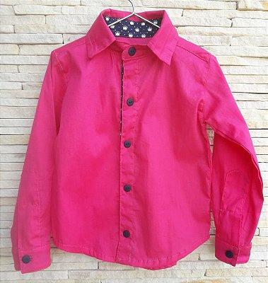 Camisa Social Pink