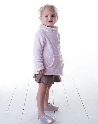 Fofinho Rosa Bebê / Gola Carneirinho