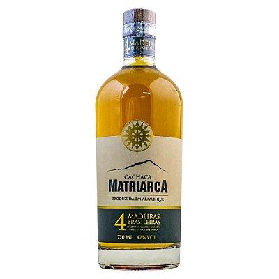 Cachaça Matriarca 4 Madeiras Brasileiras 750ml