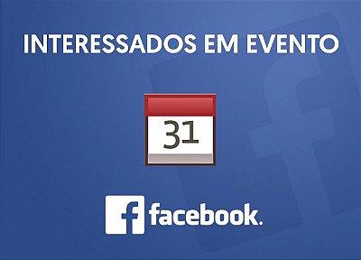 Interessados em Eventos Para Facebook (Pessoas Reais) Funcionando normalmente.