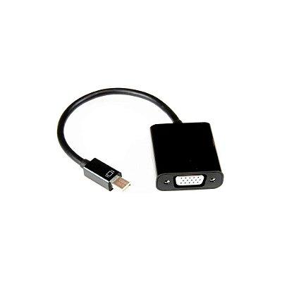 Adaptador Mini Displayport P/ Vga - Preto