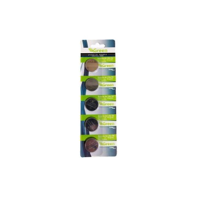 Bateria Pastilha Cr2032 3v Lithium Green ChipSce Cartela 5un