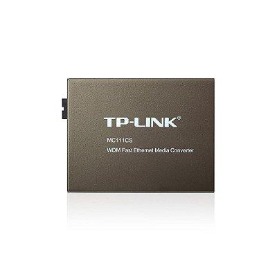 Conversor De Midia Tp-link Mc111cs Wdm De 10/100mbps (smb)